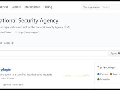 La NSA ha abierto una página en GitHub con proyectos de software libre