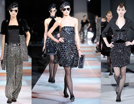 Emporio Armani en la Semana de la Moda de Milán Otoño/Invierno 2008/2009
