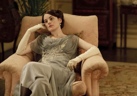 Downton Abbey vestuario vestido lady Mary