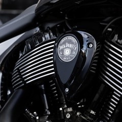 Foto 1 de 6 de la galería version-jack-daniels-indian-springfield-dark-horse en Motorpasion Moto
