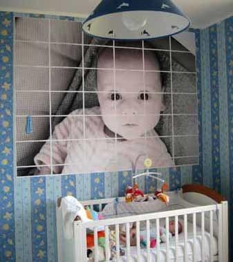 Cómo hacer un póster con la foto de tu bebé