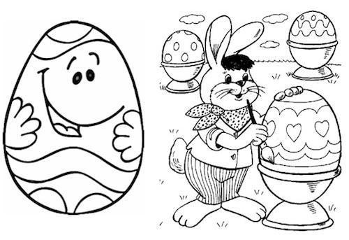 Increíble Niño Colorear Páginas Pascua Embellecimiento - Páginas ...