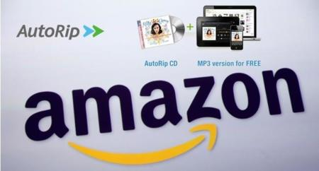 Amazon lanza AutoRip en España, copia digital gratis por la compra física de un disco