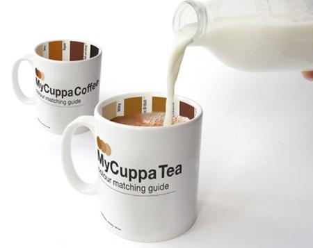 Taza pantone de café