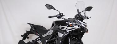 La Voge 300DS es la trail más barata del fabricante chino, apta para el A2 y por 3.595 euros