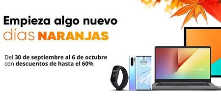 Empiezan los Días Naranjas de PcComponentes: ofertas en iPad, iPod y Apple Watch