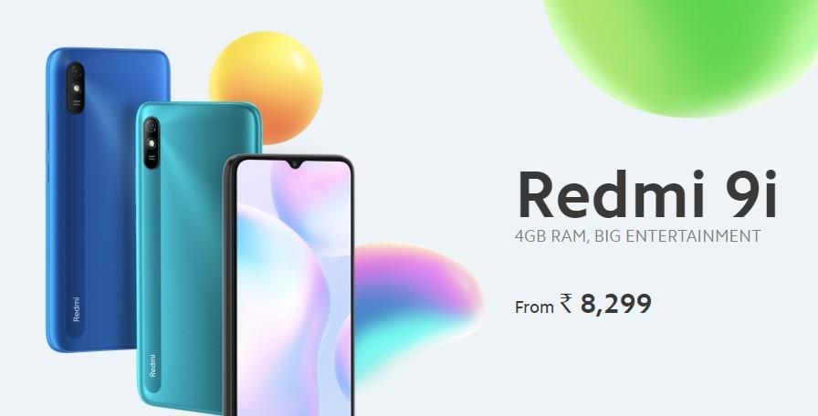Xiaomi Redmi 9i: una nueva versión local vitaminada del Redmi 9A