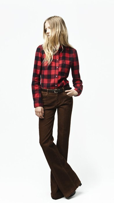 Camisa Zara Trafaluc septiembre