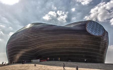 Museo de Ordos (China): un homenaje al desierto inspirado en los Simpsons y la arquitectura futurista