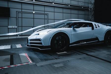 Bugatti Centodieci Tunel De Viento