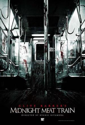 Póster de 'Midnight Meat Train', de Ryuhei Kitamura