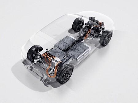 Mercedes EQA esquema