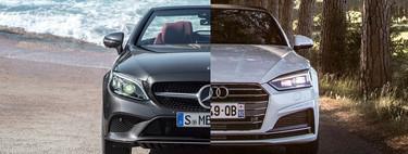 Comparativa Audi A5 Cabrio vs Mercedes Clase C Cabrio: ¿cuál es mejor para comprar?