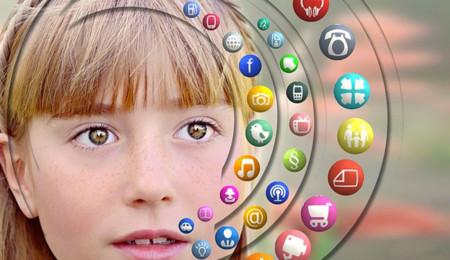 Los niños y las apps