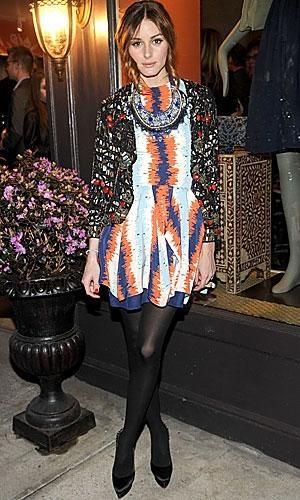 Recicla prendas, luce collares y combina estampados a lo Olivia Palermo...o no