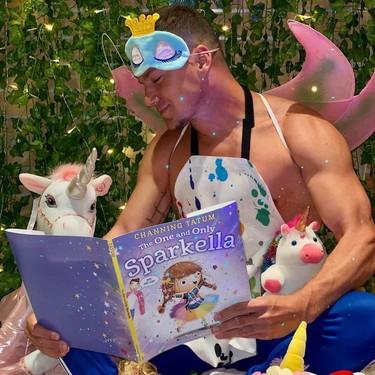 Channing Tatum da el salto de tus fantasías sexuales a la literatura infantil vestido de hada