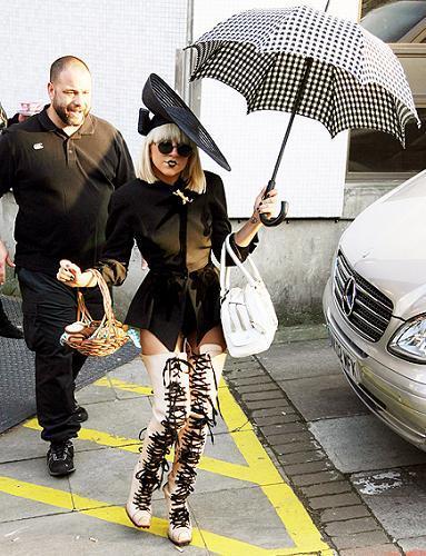 Lady Gaga, la famosa peor vestida de 2009