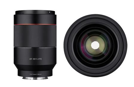 Samyang AF 35 mm ƒ1.4 FE, nueva óptica autofocus para cámaras sin espejo full frame con montura Sony FE