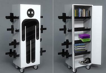 Este armario tiene truco