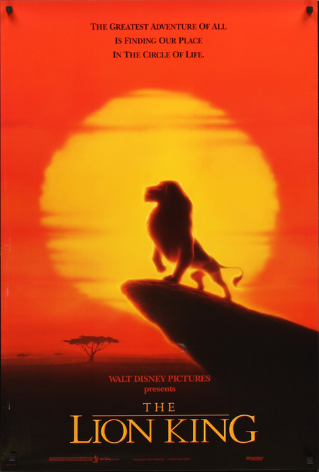 The Lion King Poster 1994 Mypostercollection Com 9