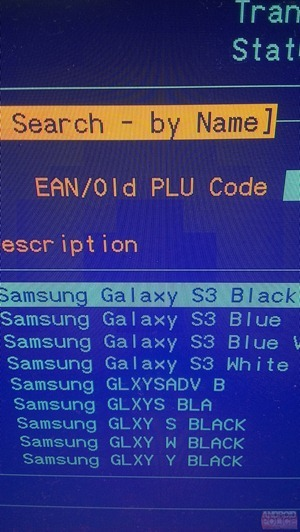 Galaxy SIII Black negro leak