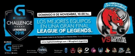 Logitech G Challenge Latinoamerica 2015