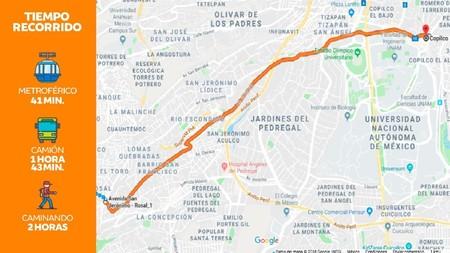 Metroferico Trayeto Ciudad De Mexico