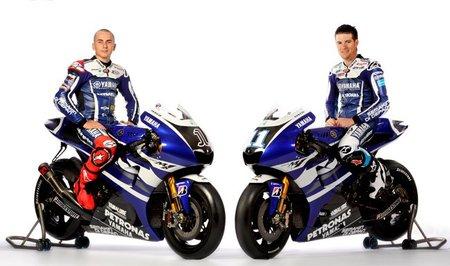 Presentación del equipo Yamaha de MotoGP en Sepang