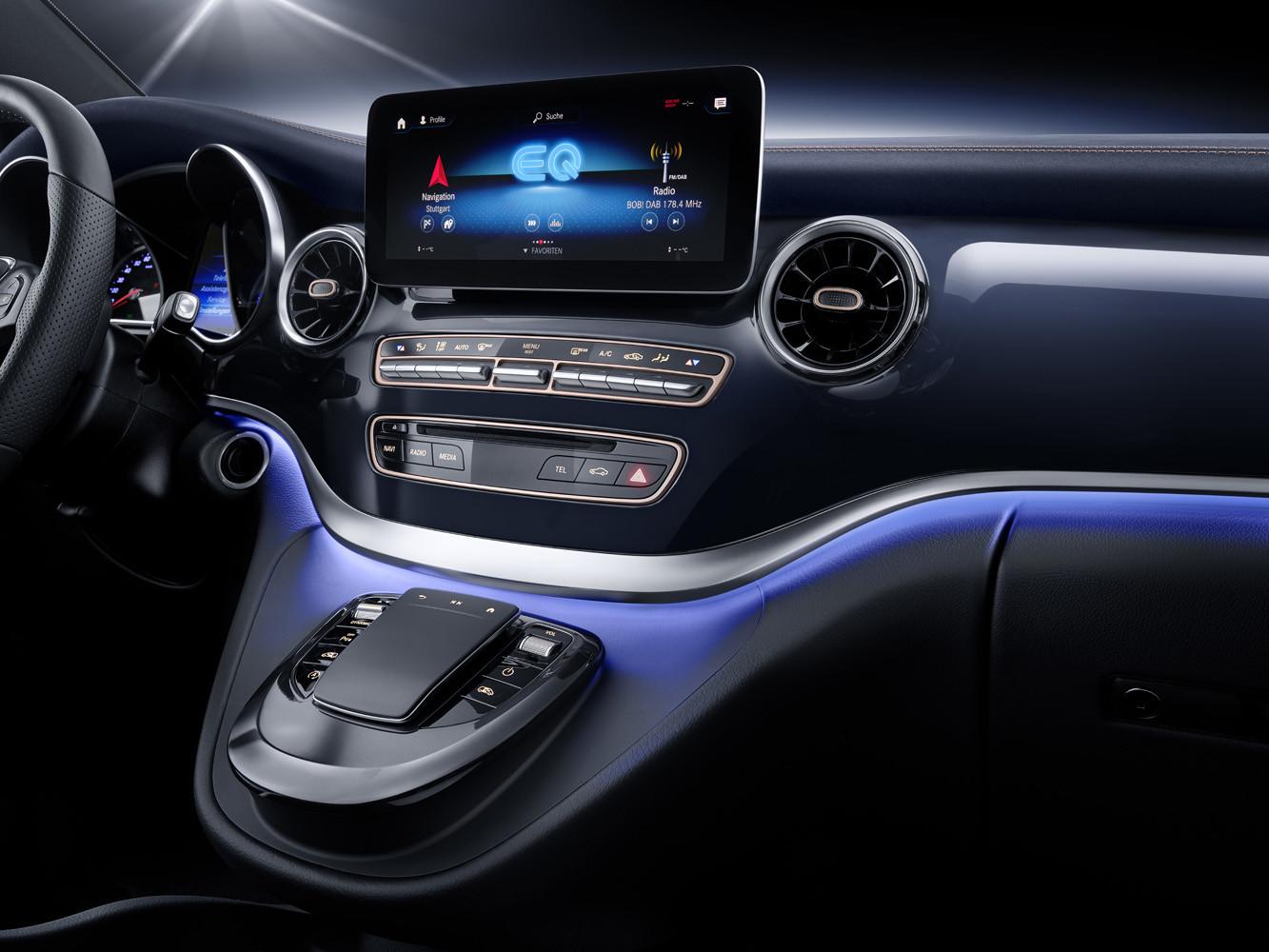 Foto de Mercedes-Benz Concept EQV (13/14)
