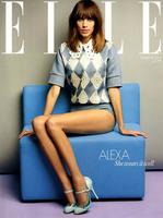 Alexa Chung es la portada de Elle UK: ¿estamos en el cielo?