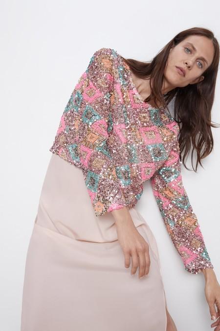 Zara Nueva Coleccion 2019 Lentejuelas 10