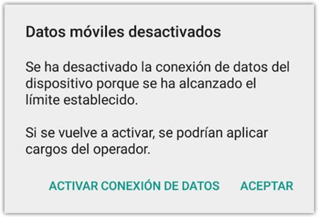 Datos Moviles Desactivados