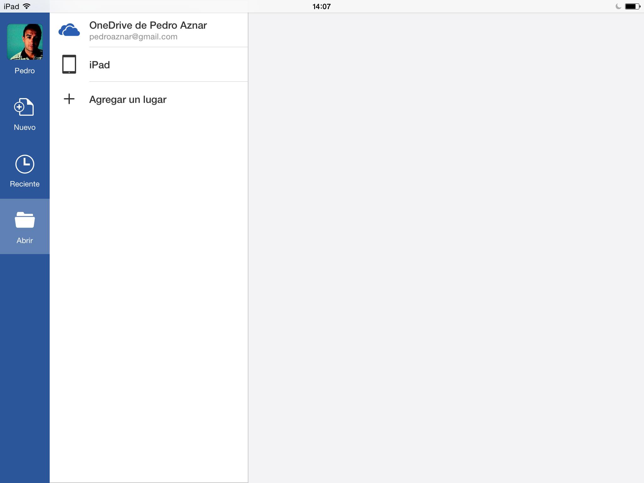 Microsoft Word para iPad