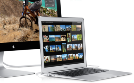 Apple Thunderbolt Display mas MacBook Air