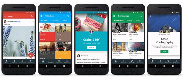 Nuevo Google® Plus Android
