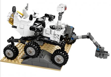 La Mars Curiosity Rover se pasa al equipo Lego: imagen de la semana