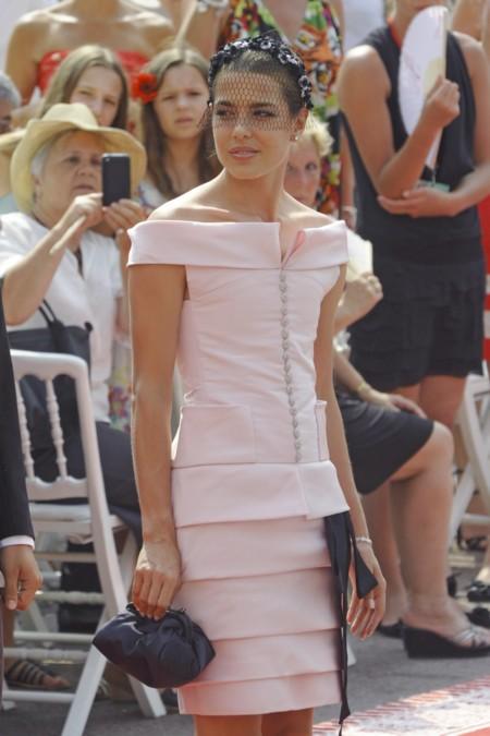 En la boda del príncipe Alberto, en julio de 2011