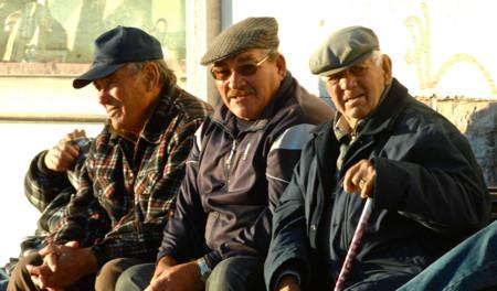 Ancianos Pesqueros