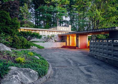 Una casa diseñada por Frank Lloyd Wright está a la venta en New Hampshire por 780.000 euros