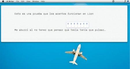 OS X Lion: Nueva manera de acentuar palabras e introducir símbolos