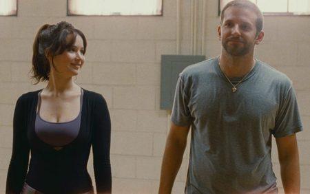 Jennifer Lawrence y Bradley Cooper en una escena de Silver Linings Playbook