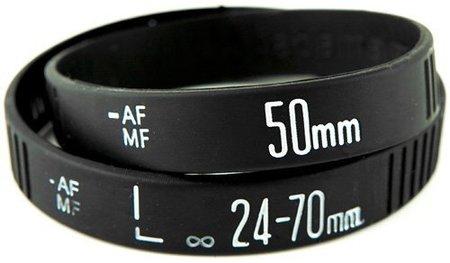 Lens bracelet, pulseras para adictos a la fotografía