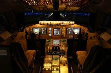 Simulador de Boeing 747