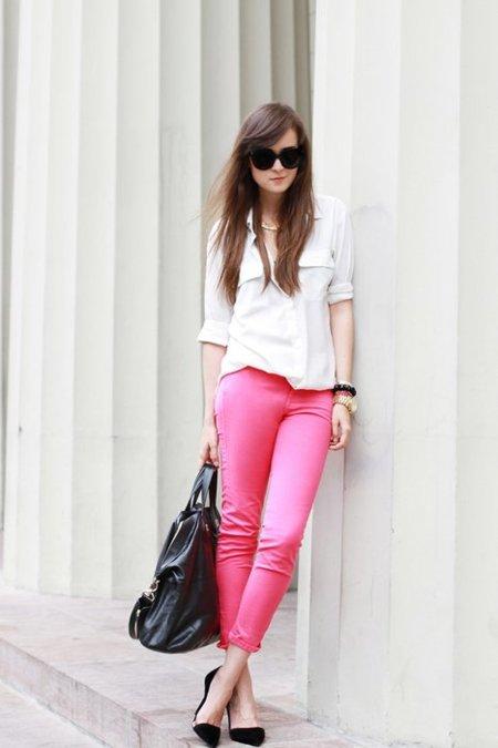 Pantalones rosas Andy