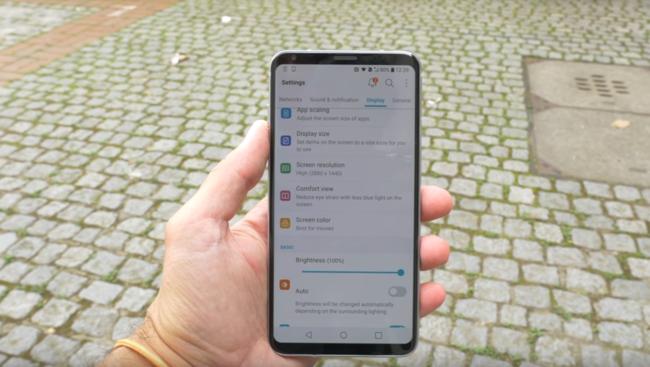 Galaxy S8 Interfaz