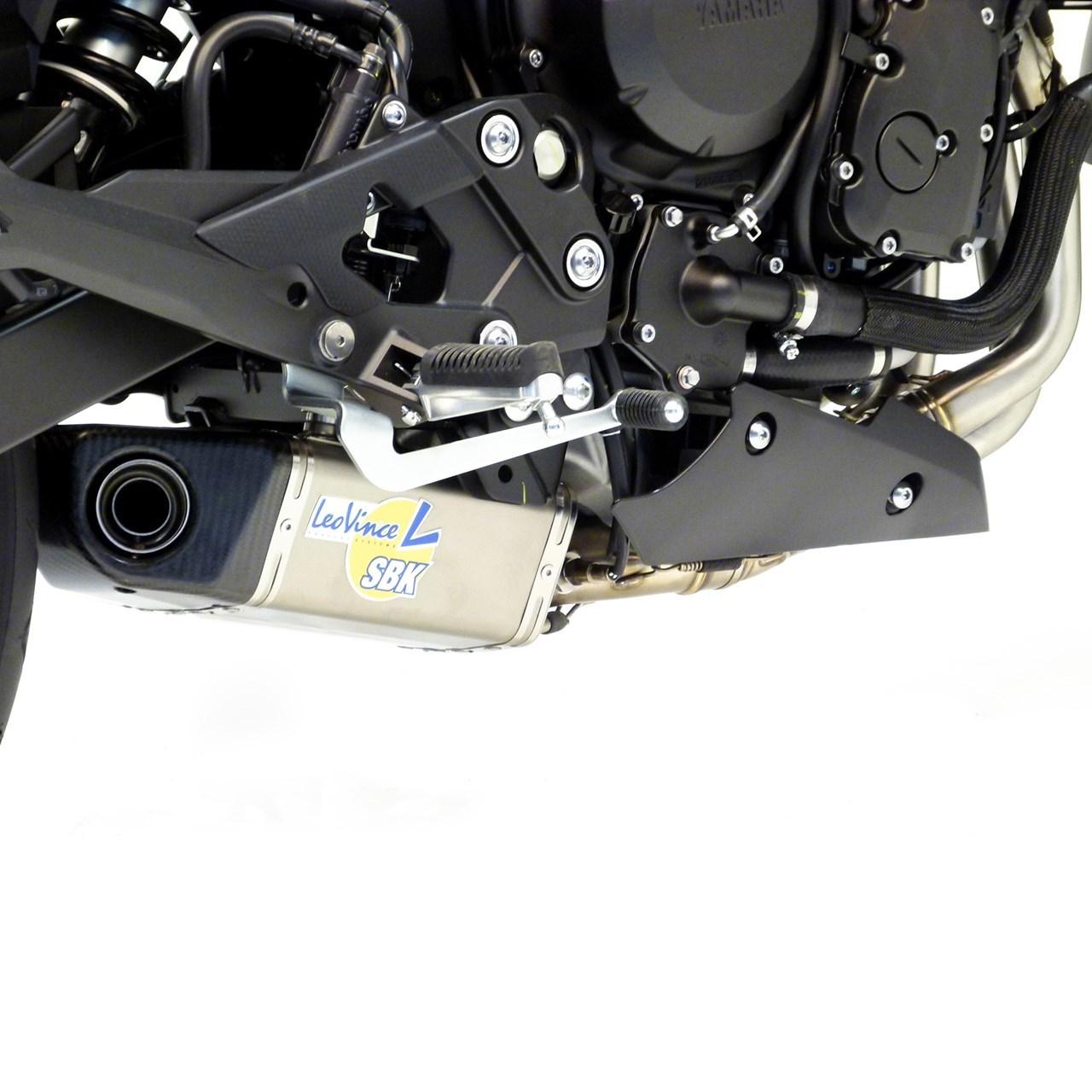 Foto de LeoVince GP Pro EVO II y LeoVince Underbody EVO II para Yamaha XJ6 i.e. 2013 (7/11)