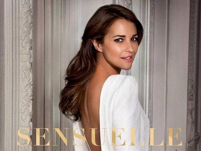 El vestido que lleva Paula Echevarría en el anuncio de Sensuelle es de novia y de Cristina Piña