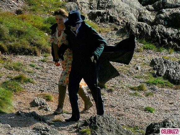 Foto de 'Dark Shadows', fotos de Johnny Depp en el rodaje (3/4)