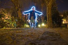 Lightpainting por David Cabezón