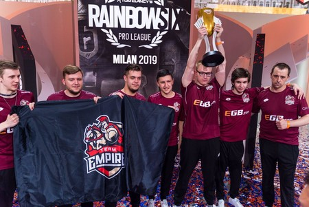 Team Empire remonta y se impone a Evil Geniuses en la final de Rainbow Six Pro League de la temporada 9